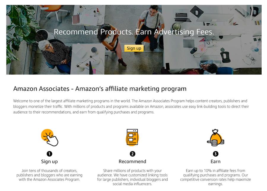 Amazon Associates - Best Affiliate Programs
