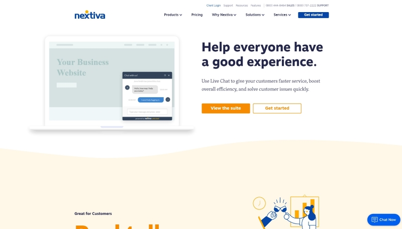 Best-Live-Chat-Software-Nextiva